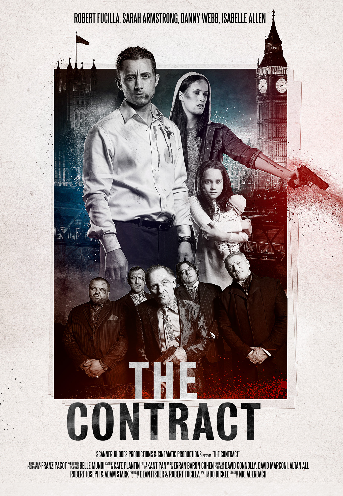Poster design key - The Contract Key Art Poster